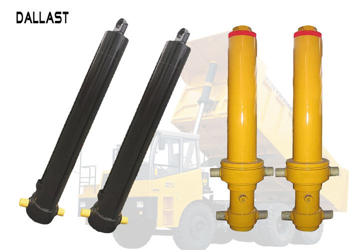 Single Acting Hollow Plunger Hydraulic Cylinder Telescopic Multistage for Dump Truck